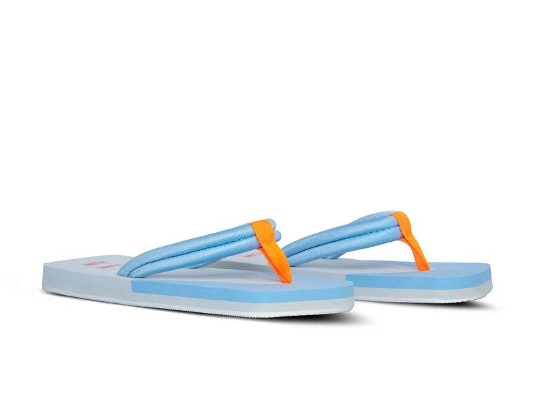 Xigy Glacier Grey Cerulean Orange F0007