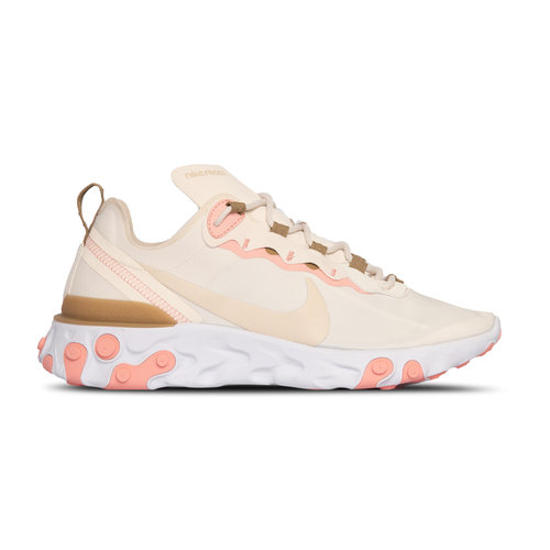 React Element 55 Phantom LT Orewood BRN Parachute Beige BQ2728 007