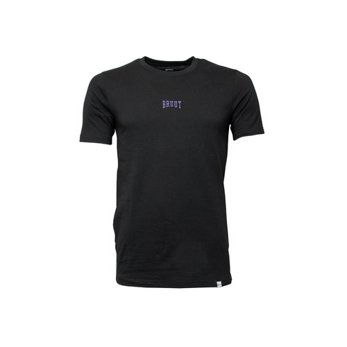 Embroided logo tee Black Laker HFD012