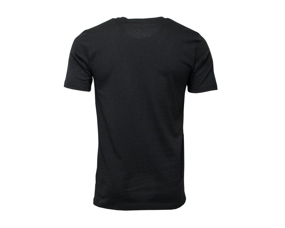 Bruut Embroided logo tee Black Laker HFD012