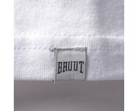 Bruut Embroided logo tee White Laker HFD009