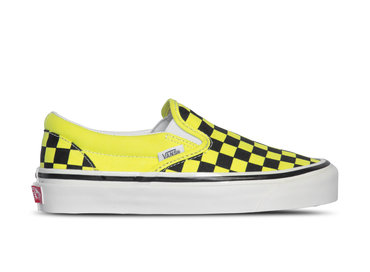 Vans Classic Slip On 9 Anaheim Factory Og Yellow Checkerboard VN0A3JEXV9O1