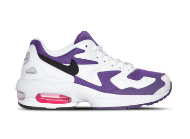Nike Air Max2 Light White Black Court Purple AO1741 103