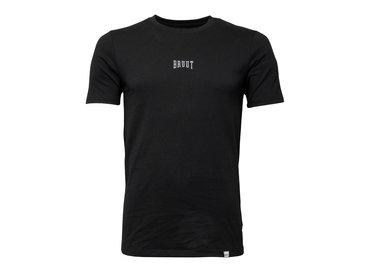 Bruut Embroided Logo Tee Black White HFD013