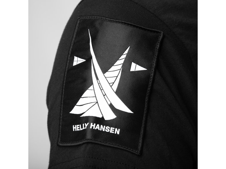 x Helly Hansen Tee Black HFD19helly04
