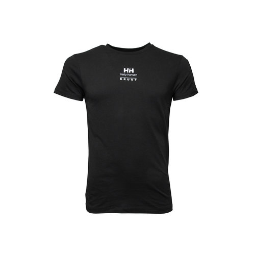x Helly Hansen Tee Black HFD19helly04