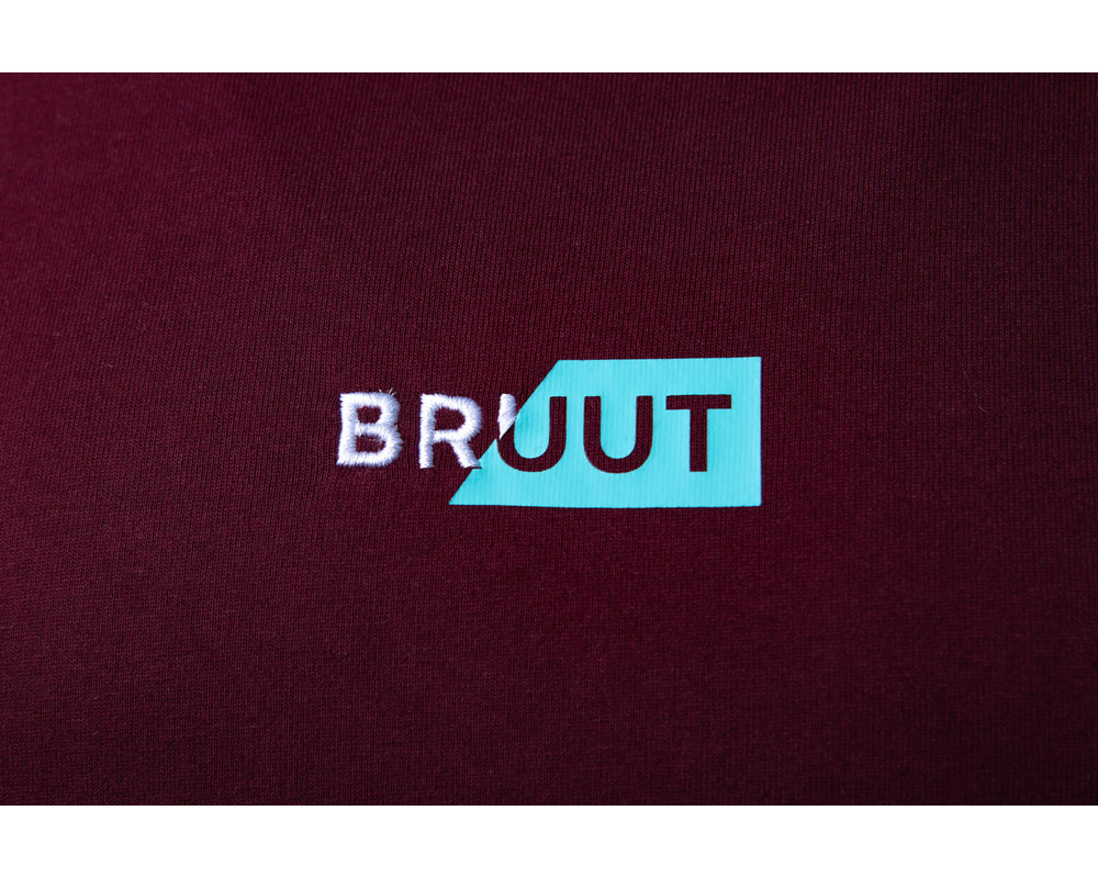 Bruut Rip Box Logo Tee Teal HFD017
