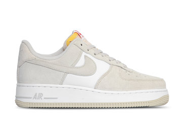 Nike Air Force 1 '07 LV8 Light Bone University Red CI2677 001
