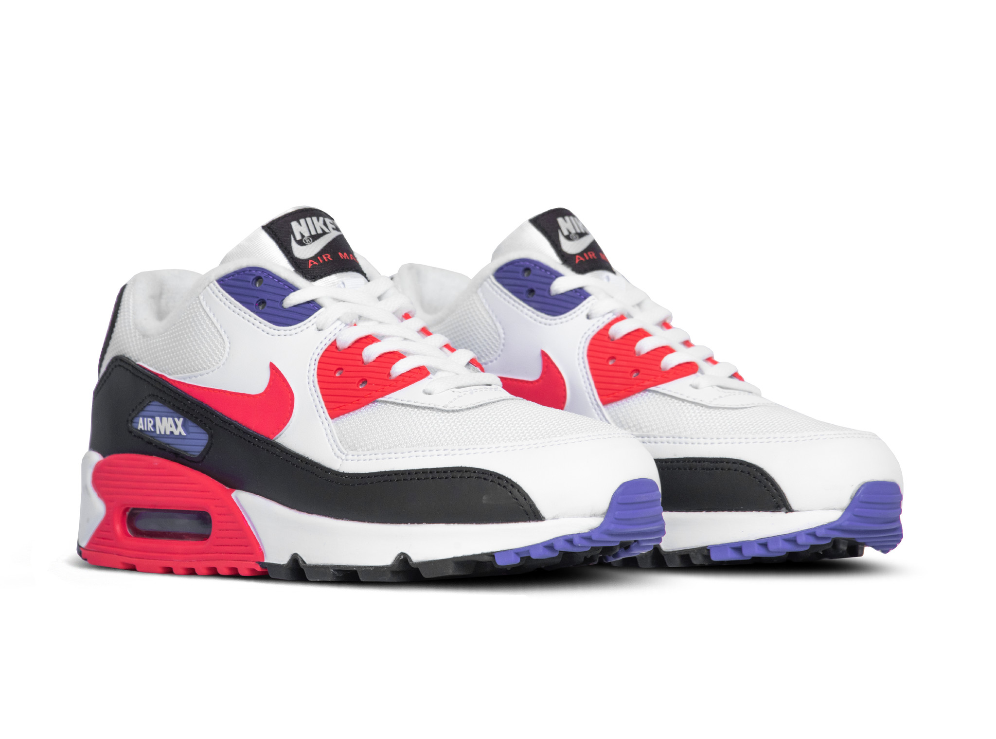 Details about Nike Air Max 90 Shoes Womens Size 7 White, Off White, Lavendar Leather