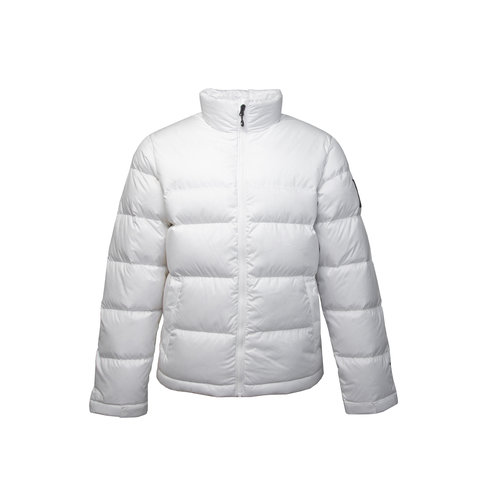 1992 Nuptse Jacket White Black T92ZWEFV3