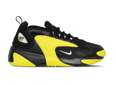 Nike Zoom 2K Black White Dynamic Yellow AO0269 006