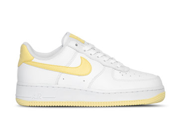 Nike WMNS Air Force 1 '07 White Bicycle Yellow White  AH0287 106