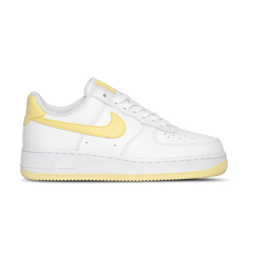 WMNS Air Force 1 '07 White Bicycle Yellow White  AH0287 106