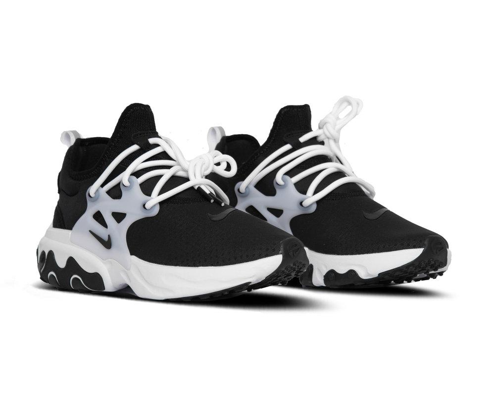 Nike React Presto Black Black White AV2605 003