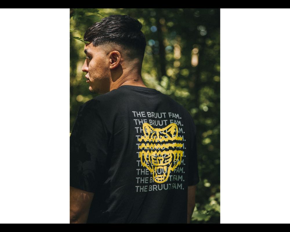 Bruut Panthera Tee Yellow HFD022