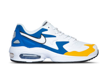 Nike Air Max2 Light PRM White White University Gold BV0987 102