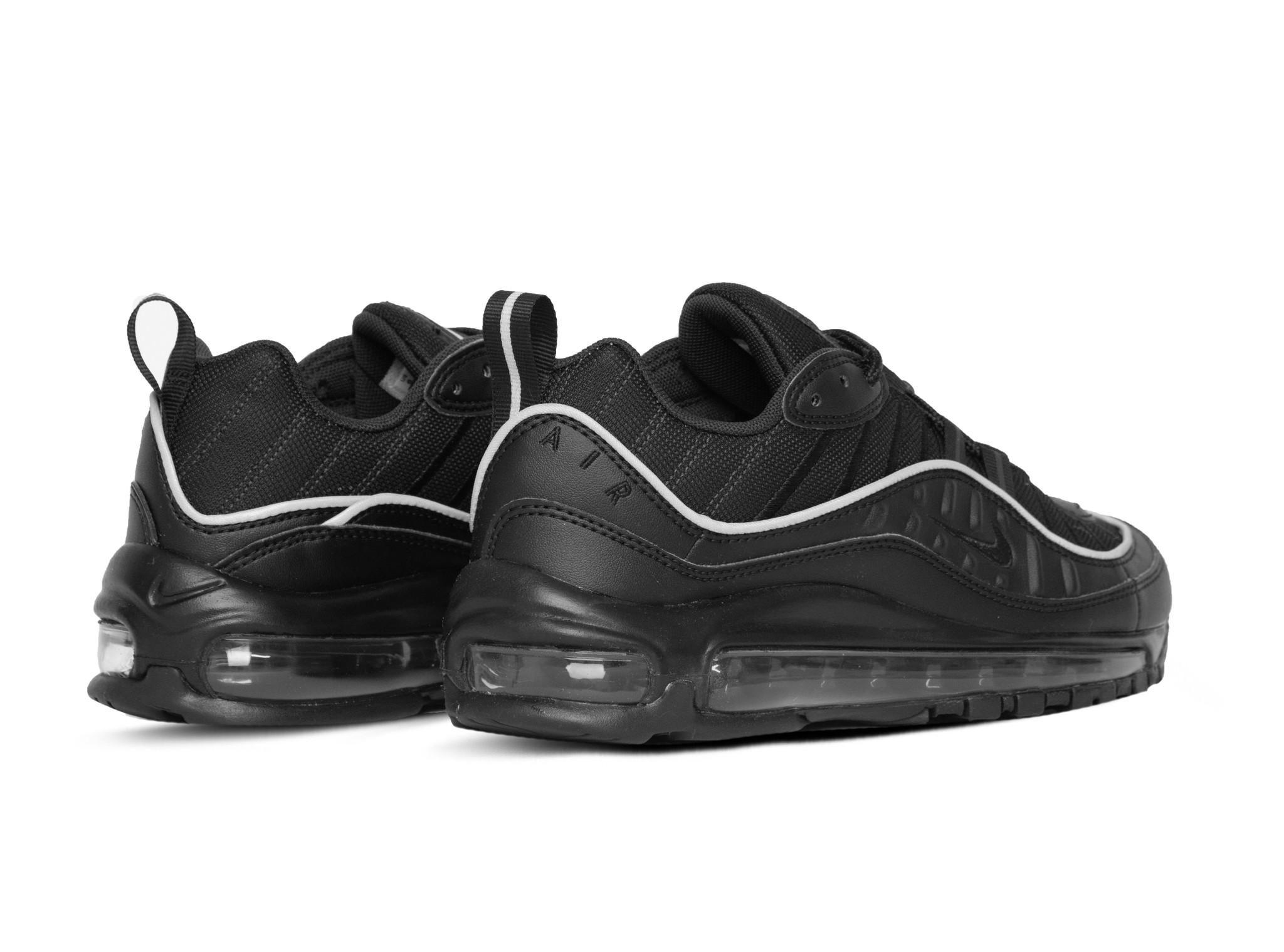 W Air Max 98 Black Black Off Noir AH6799 004 Bruut Online
