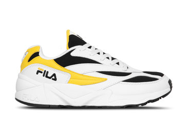 Fila V94M Low White Empire Yellow Black  1010255 03G