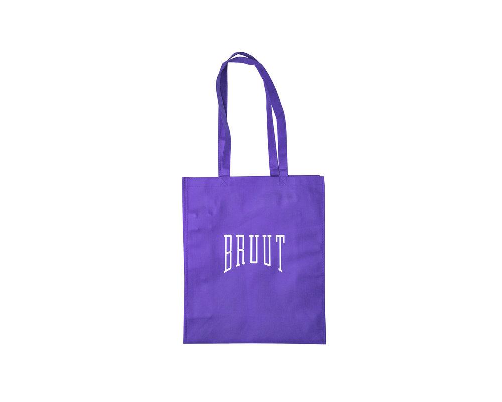 Bruut Exclusive Totebag  Neon/Purple
