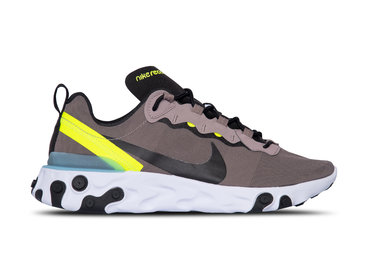 Nike React Element 55 Pumice Black White Blue Chill BQ6166 201