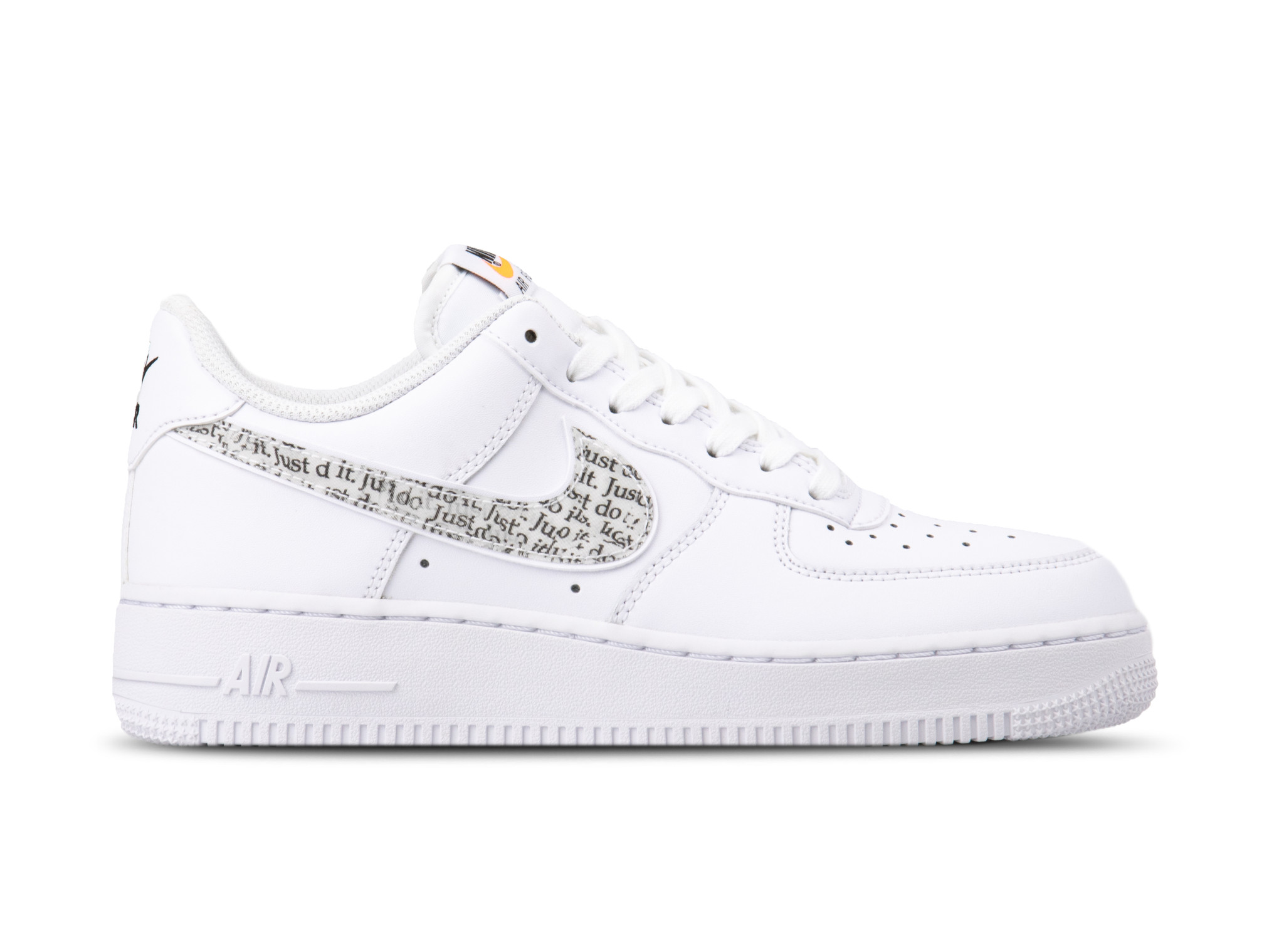 Air Force 1 '07 LV8 JDI LNTC White Black Total Orange BQ5361 100
