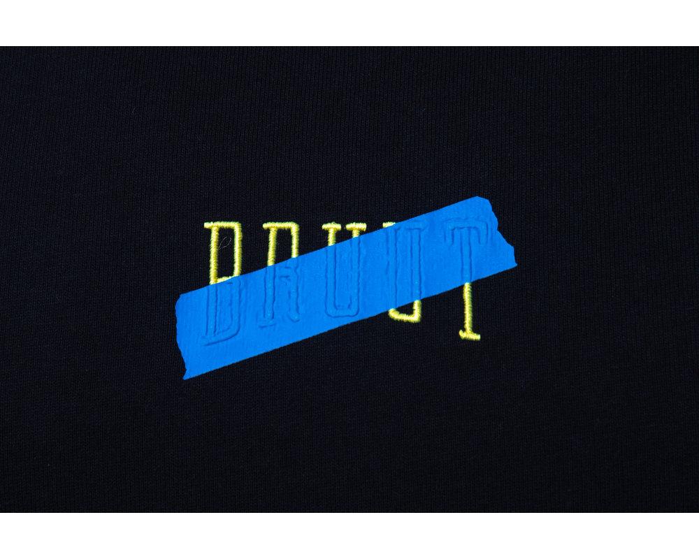 Bruut Tape Logo Tee Blue HFD025
