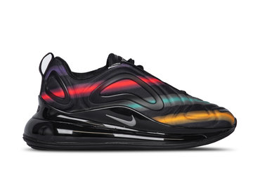 Nike Air Max 720  Black Metallic Silver University Gold AR9293 023