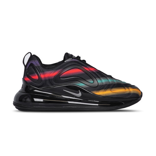 Air Max 720  Black Metallic Silver University Gold AR9293 023