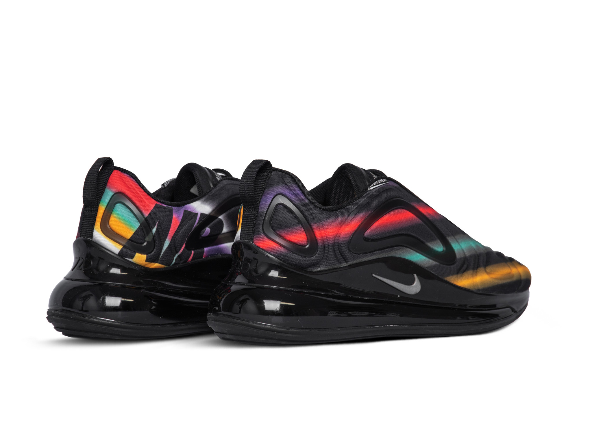 Nike Air Max 720 Triple BlackAnthracite Women's Running Shoes AR9293 007