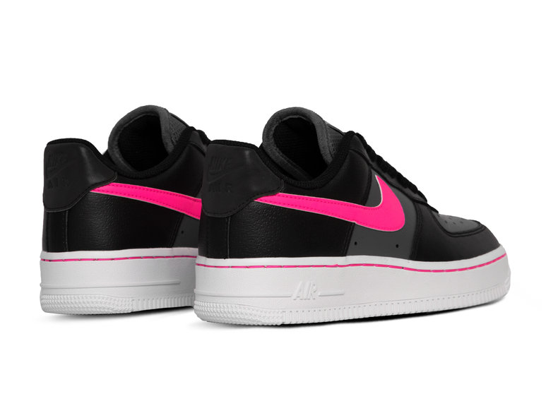 Air Force 1 Low  Black Pink Blast Dark Grey White CJ9699 001
