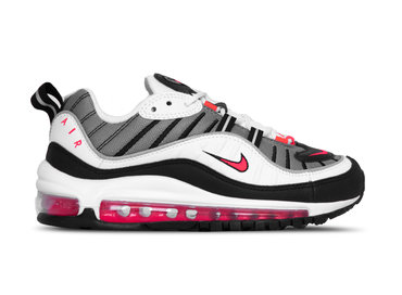 Nike W Air Max 98  White Solar Red Dust Blanc Poussiere Ah6799 104