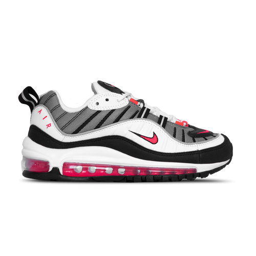 W Air Max 98  White Solar Red Dust Blanc Poussiere Ah6799 104