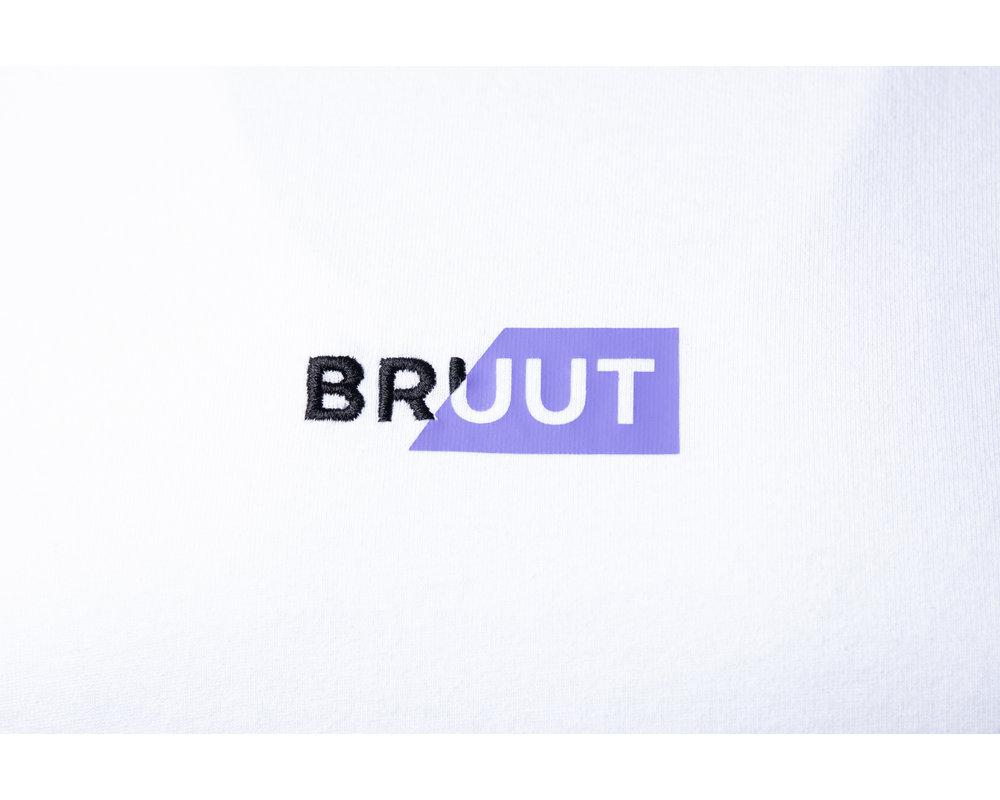 Bruut Rip Box Logo Tee Violet HFD019
