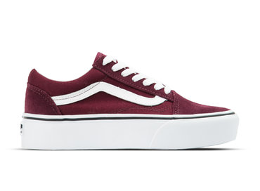 Vans Old Skool Platform Port Royale True White VN0A3B3U5U7