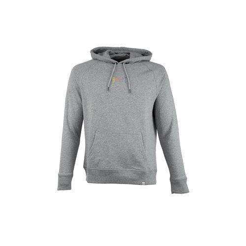 Ichiban Basic Hoodie Grey Rainbow HFD311