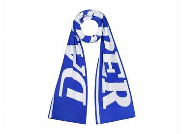 Daily Paper Merino Wool Scarf Blue White 18F1AC21 02