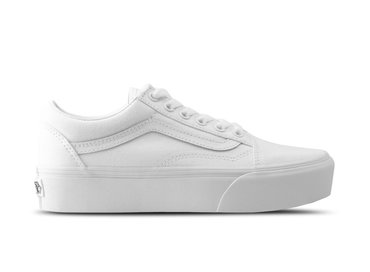 Vans Old Skool Platform True White VN0A3BUW001