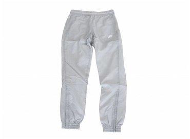 Nike Swoosh Woven Pant Wolf Grey White Light Bone AJ2300 012
