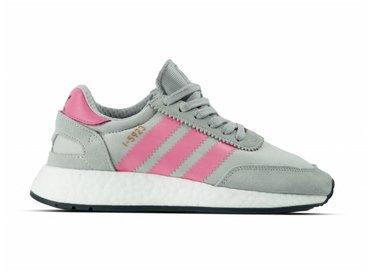 Adidas Iniki Runner I 5923 Grey Two Chalk Pink Core Black CQ2528