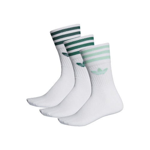 Mid Cut Crew Sock White Clemin ED1131