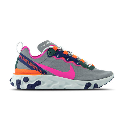 W React Element 55 Wolf Grey Laser Fuchsia BQ2728 006