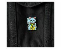 Bruut Lucky Cats Blue Pin