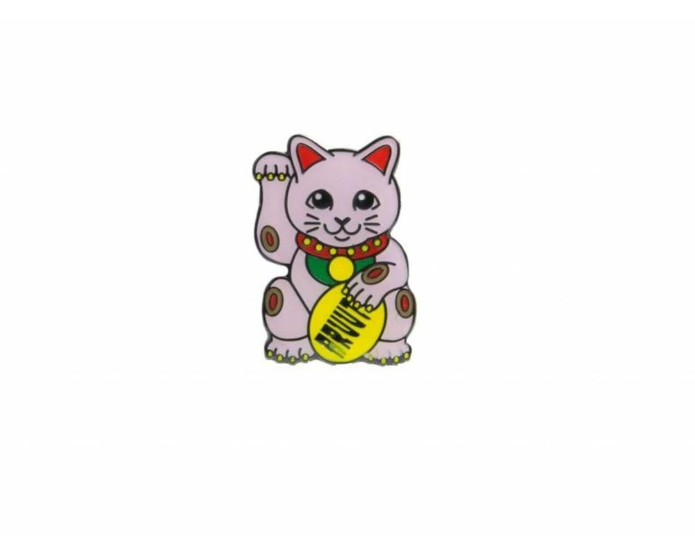 Bruut Lucky Cats Pink Pin