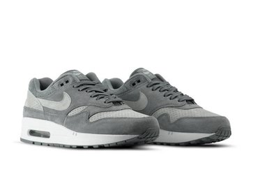 Nike Air Max 1 Premium Cool Grey Wolf Grey White 875844 005