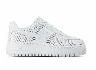 Nike W Air Force 1 Upstep SI White White Vast Grey 917591 100