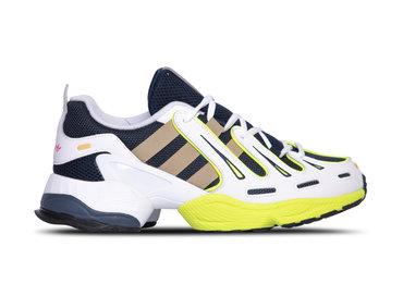 Adidas EQT Gazelle Collegiate Navy Raw Gold Solar Yellow EE7742