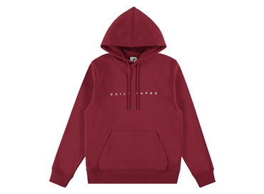 Daily Paper Alias Hoodie  Red 19E1HD02 02