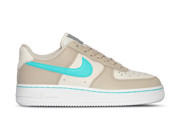 Nike W Air Force 1Lo  Desert Sand Autora Green CJ9699 002