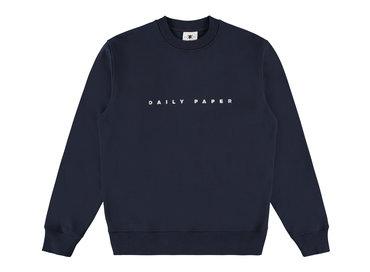 Daily Paper Alias Sweater Navy 19E1SW03 02