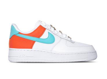Nike Wmns Air Force 1 '07 SE White Light Aqua Cosmic Clay AA0287 106